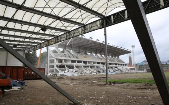 Het Gentse Jules Ottenstadion ziet er tegenwoordig zo uit.