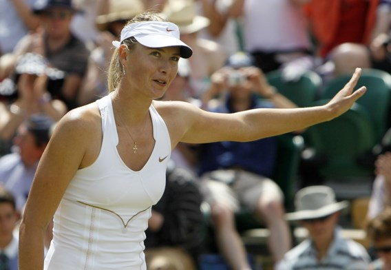 Maria Sharapova geeft forfait voor Masters