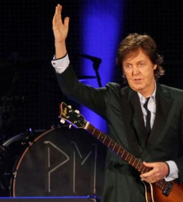 Paul McCartney herenigt Johnny Depp en Kate Moss