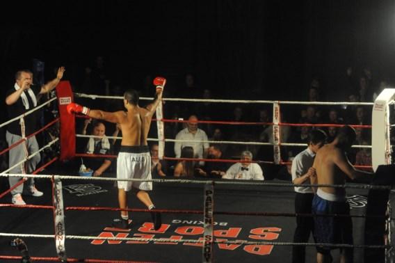 Ali Baghouz is nieuwe Belgisch kampioen boksen bij de zwaargewichten