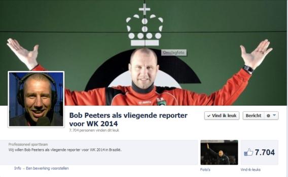 Facebook wil Bob Peeters naar Brazilië