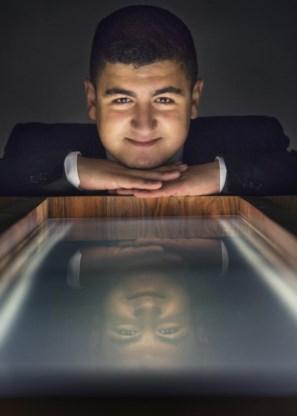 Khalid El Jafoufi: 'Telkens als ik studeer, raak ik ontroerd door Gods almacht.'