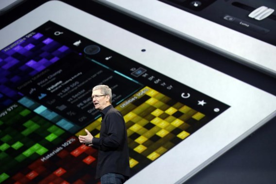 Apple onthult dunnere iPad Air