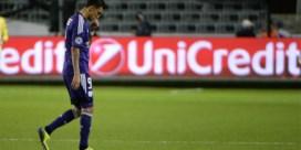 Anderlecht-spits Matias Suarez out voor rest van seizoen