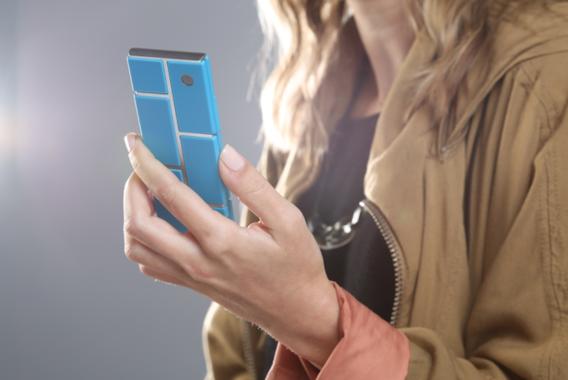Motorola werkt aan 'blokken-telefoon'