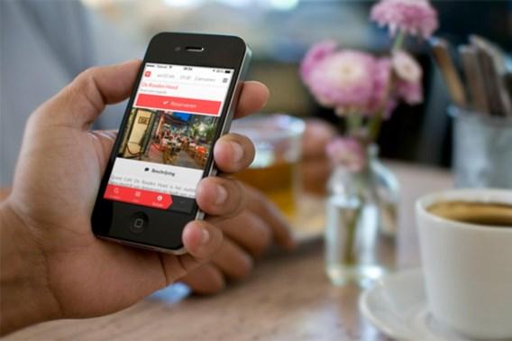 App toont welke restaurants nog een tafeltje vrij hebben