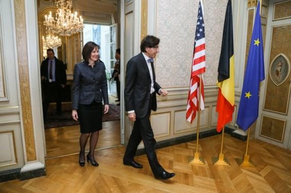 Di Rupo ontmoet nieuwe VS-ambassadeur