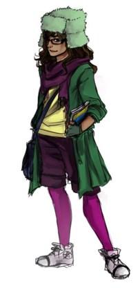Kamala Khan, alias Ms. Marvel.
