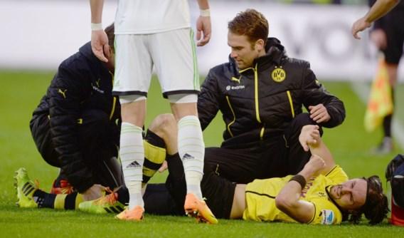 Neven Subotic (Borussia Dortmund) moet kruis maken over rest van seizoen
