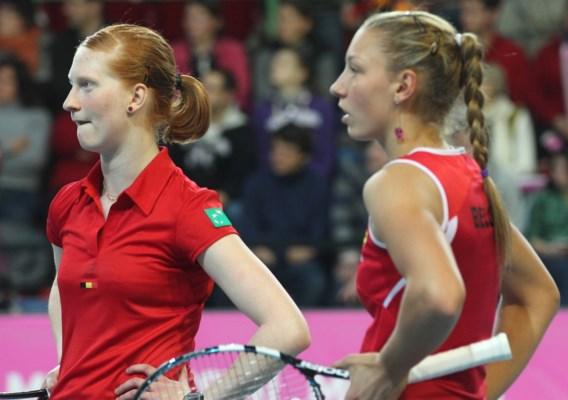 Alison Van Uytvanck klopt Wickmayer en wint haar eerste WTA-toernooi