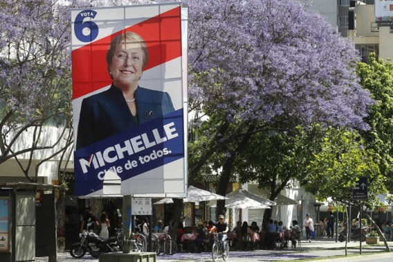 Bachelet favoriet voor Chileense presidentsverkiezingen