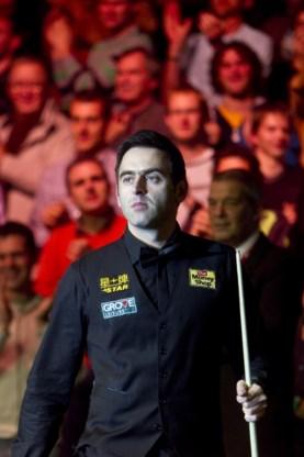 Ronnie O'Sullivan schittert in Lotto Arena