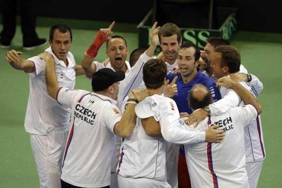 Tsjechië verslaat Servië en wint Davis Cup opnieuw