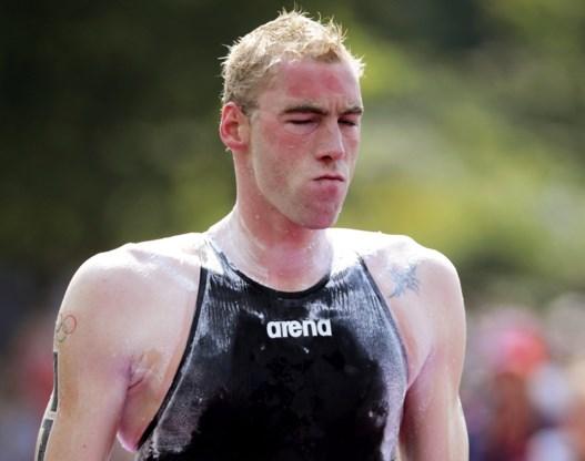 Wereldrecordpoging Brian Ryckeman valt in het water