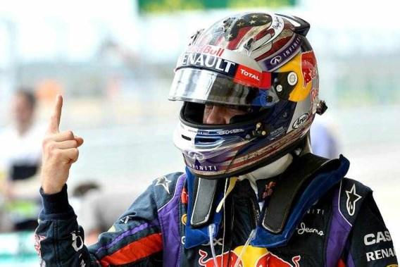 Vettel autoritair naar recordzege in Austin