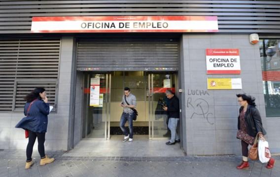 Spaanse werkloosheid blijft dalen
