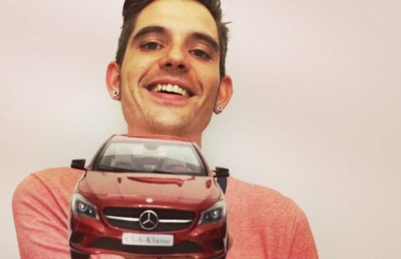 West-Vlaming krijgt gloednieuwe Mercedes dankzij duizenden Facebook-likes