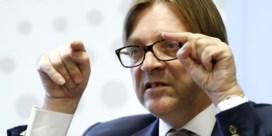 Bemiddeling voor Europese tweestrijd Guy Verhofstadt en Olli Rehn