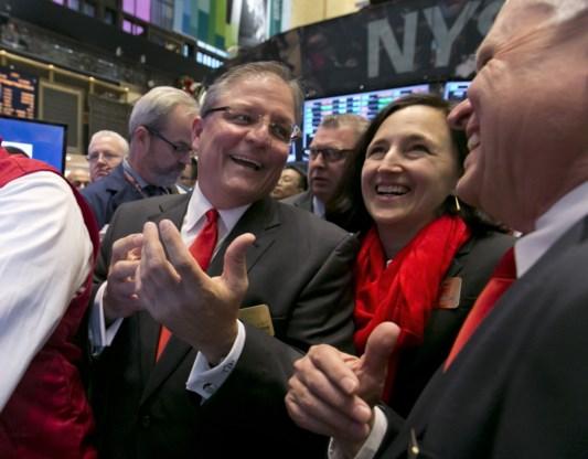 Topjaar voor Wall Street eindigt in schoonheid