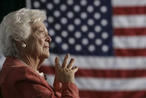 Barbara Bush in ziekenhuis opgenomen met longontsteking