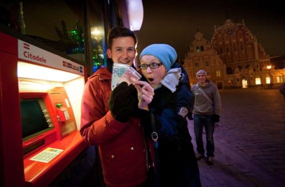 Ook Letten betalen in euro