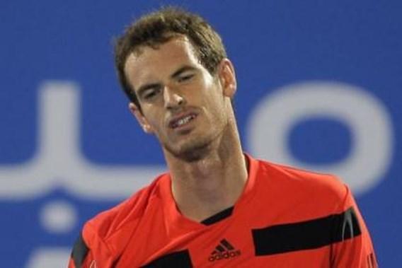 Andy Murray verrassend uitgeschakeld in Doha