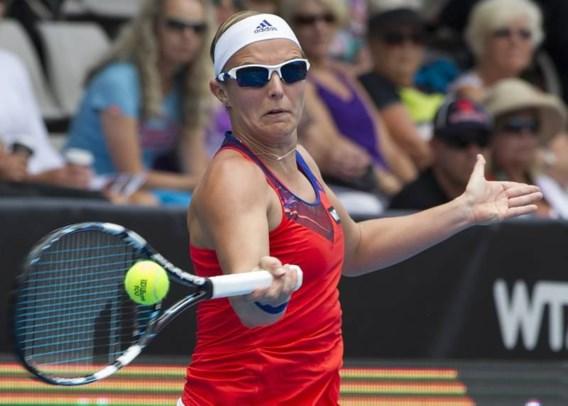 Kirsten Flipkens stoot door naar kwartfinales Auckland