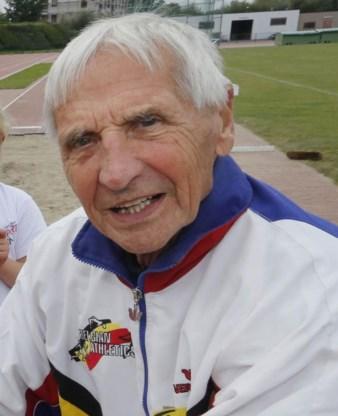 Oudste atleet (95) van België stapt volgende week uit het leven