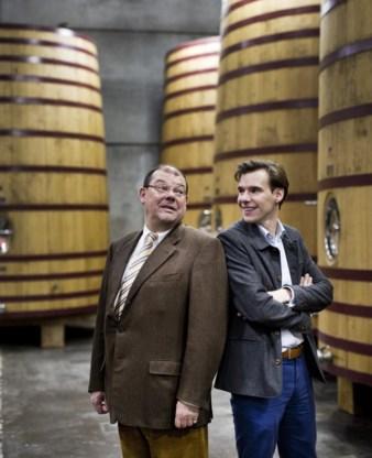 Ignace De Brabandere (links) en zijn zoon Albert.