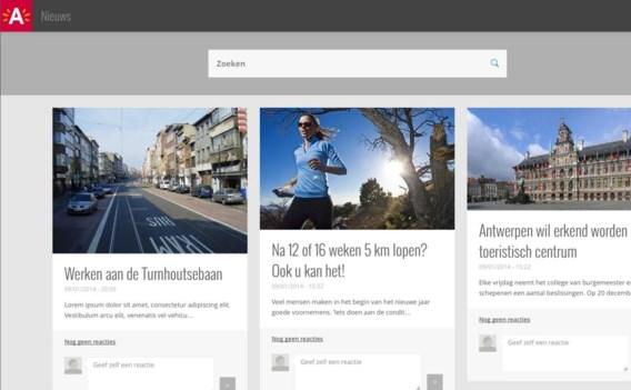 In mei lanceert Antwerpen A-stad, een digitaal platform waarop alle Antwerpenaren zich kunnen aansluiten.