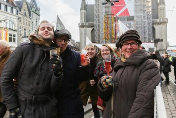 12.000 Gentenaars vieren nieuwjaar 'thuupe tegoare'