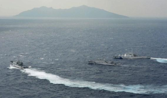 Drie Chinese schepen dringen betwiste territoriale wateren binnen