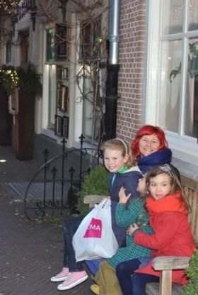 Tanja Goossens en haar nichtjes houden van Hulst.