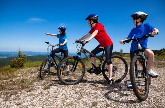 Sportief fietsen is niet langer een vooral mannelijke aangelegenheid.