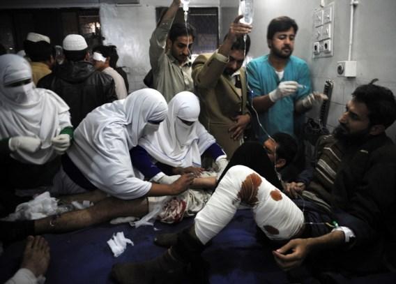 Ook twee kinderen komen om bij aanslag op Pakistaanse moskee