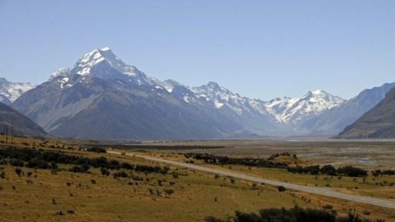 Hoogste berg van Nieuw-Zeeland krimpt