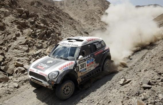 Qatarees Nasser Al-Attiyah wint tiende Dakaretappe