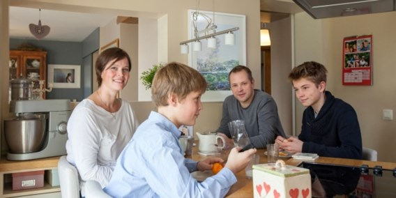 Kwart Belgische gezinnen eet dagelijks samen