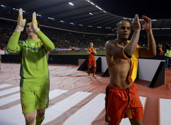 Rode Duivels behouden plaats op FIFA-ranking