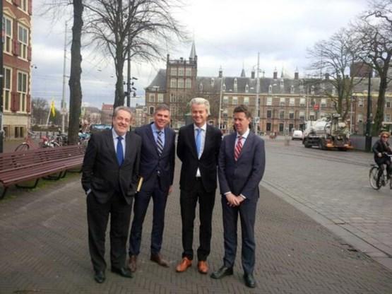 Dewinter verbroedert met Wilders