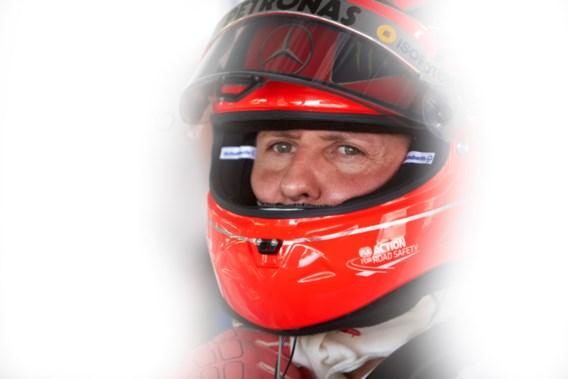 Talisman Michael Schumacher teruggevonden in de sneeuw