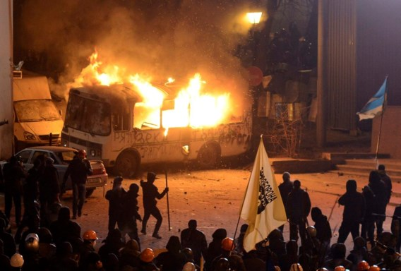 Massale protesten ondanks Oekraïense antiprotestwet