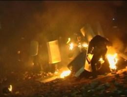 Zware clashes in Kiev