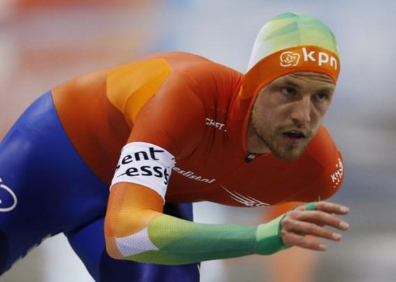 Nederlandse schaatster Michel Mulder verlengt wereldtitel sprint