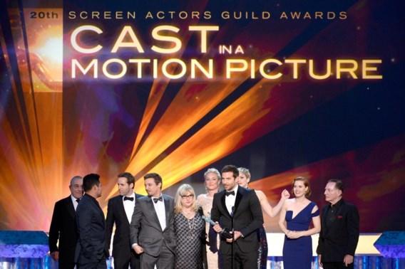 Actors Guild kroont 'American Hustle' tot beste film