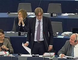 Volgt Verhofstadt Barroso op?
