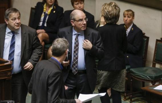 Minister van Financiën Koen Geens pakt een bochtje. In dezelfde richting als zijn Franse collega Pierre Moscovici.