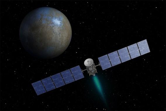 Europese telescoop ontdekt water(damp) op dwergplaneet Ceres
