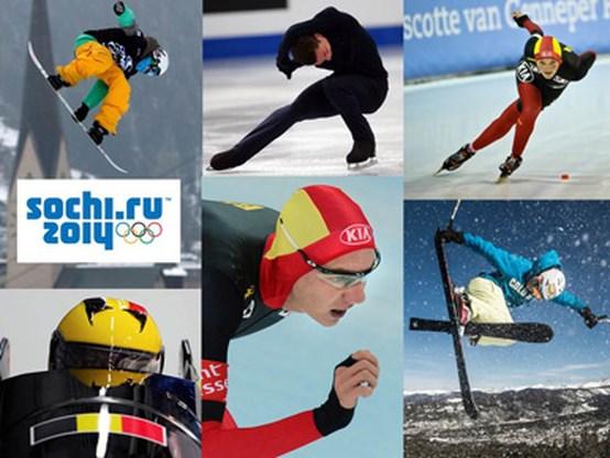 Dit zijn de zeven Belgische atleten voor Sochi