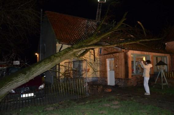 Storm richt vooral ravage aan in West-Vlaanderen
